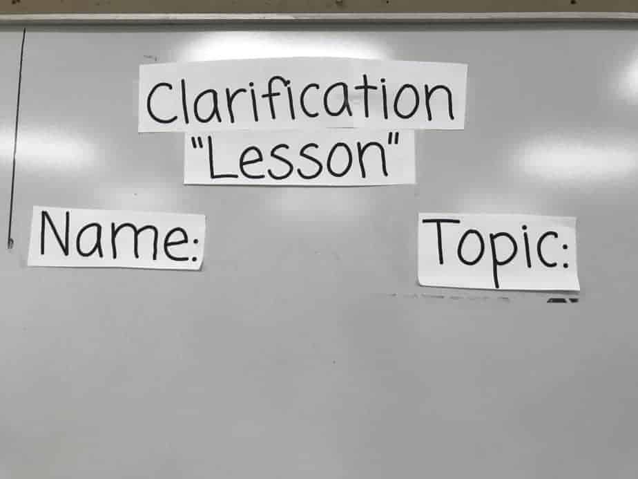 Teacher Organizational Tools